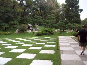 Los Caminos En El Jardín Entrejardines